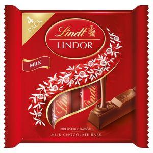Lindt Lindor Milk Chocolate Multipack 4X25g