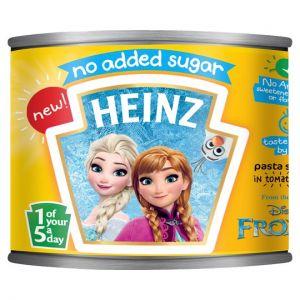 Heinz No Added Sugar Frozen Pasta Shapes 205g