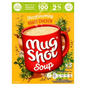 Mug Shot Roast Chicken Cup Soup 3 Sachets 75g