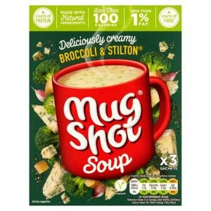 Mug Shot Broccoli & Stilton Cup Soup 3 Sachets 72g