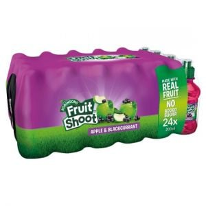 Fruit Shoot Apple & Blackcurrant No Added Sugar 24 X 200ml