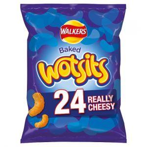 Walkers Wotsits Cheese Snacks 24 X 16.5g