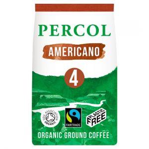 Percol Fair Trade Americano Ground Coffee 200g