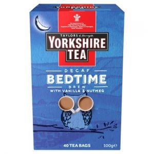 Yorkshire Bedtime Brew 40 Tea Bags 100g