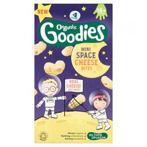 Organix Space Cheese Bites 4X8g