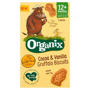 Organix Cocoa & Vanilla Gruffalo Biscuits 5X20g
