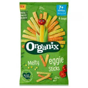 Organix Melty Veggie Sticks 4X15g