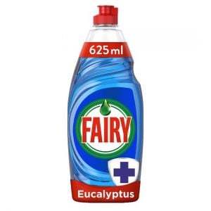 Fairy Washing Up Liquid Antibacterial Eucalyptus 625ml