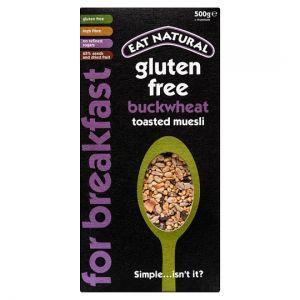 Eat Natural Gluten Free Buckwheat Toasted Muesli 500g