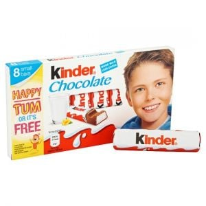 Kinder Chocolate Multipack Bars 8 X12.5g