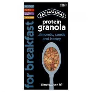 Eat Natural Protein Granola Almonds Seeds & Honey 400g