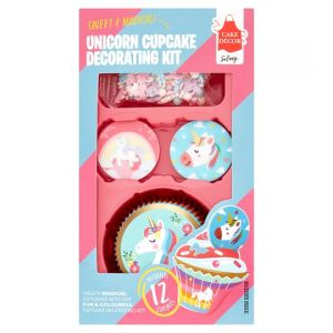 Cake Decor Unicorn Cupcake Decoratin Kit28g
