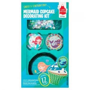 Cake Decor Mermaid Cupcake Decoratin Kit28g