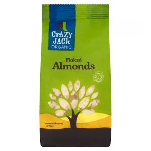 Crazy Jack Organic Flaked Almonds 100g