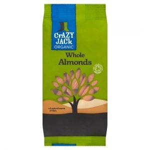 Crazy Jack Organic Almonds 100g
