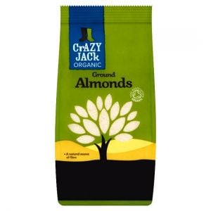 Crazy Jack Organic Ground Almonds 100g