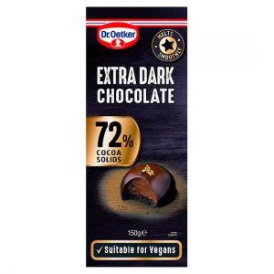 Dr Oetker Cooks Chocolate Extra Dark 150g