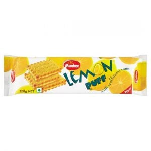 Carte Blanche Munchee Lemon Puff Biscuits 200g