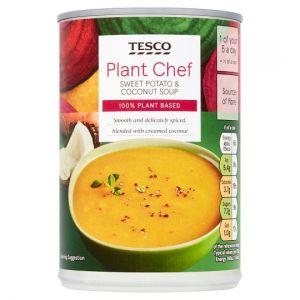 Tesco Plant Chef Sweet Potato & Coconut Soup 400g