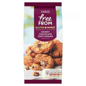 Tesco Free From Chocolate Chip Cookies 150g