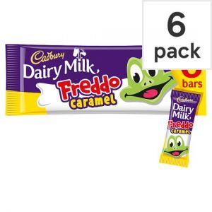 Cadbury Freddo Caramel 6 Pack 117g