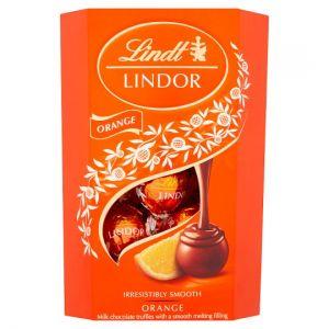 Lindt Lindor Milk Chocolate Orange 200g