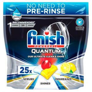 Finish Quantum Ultimate Lemon 25 Tab Dishwasher 312.5g