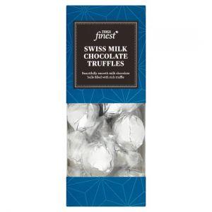 Tesco Finest Swiss Milk Chocolate Truffles 180g