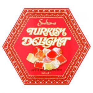 Rose and Lemon Turkish Delight Box 325g