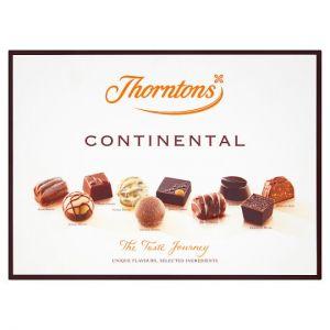 Thorntons Dark Continental Milk White Chocolates 284g