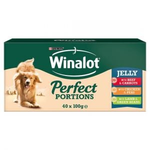 Winalot Perfect Portions Meat Selection In Jelly 40X100g