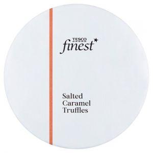 Tesco Finest Salted Caramel Truffles 140g
