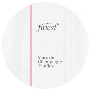 Tesco Finest Marc De Champagne Boxed Truffles 140g