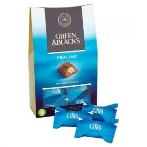 Green and Blacks Milk Chocolate Praline 158g