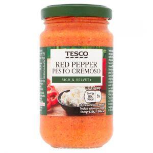 Tesco Red Pepper Pesto Cremoso 190g