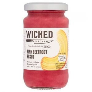 Wicked Kitchen Pink Beetroot Pesto 190g