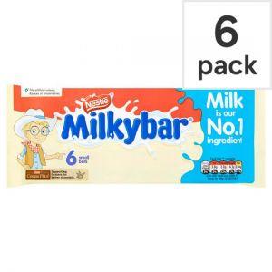 Milkybar Kid White Chocolate 6 Pack 72g