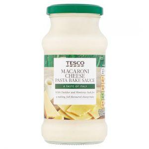 Tesco Macaroni Cheese Pasta Bake Sauce 340g
