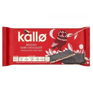 Kallo Organic Dark Chocolate Ricecakes 90g