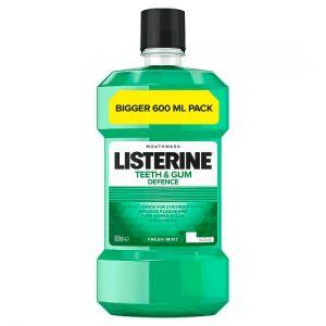 Listerine Mouthwash Teeth & Gum Defence 600ml