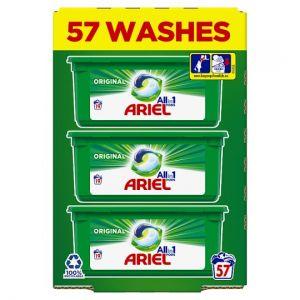Ariel All In 1 Washing Pods Original 57 Wash 1436.4g