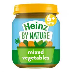 Heinz Mixed Vegetable Jar 120g