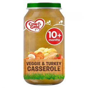 Cow & Gate Vegetable & Turkey Casserole 250g