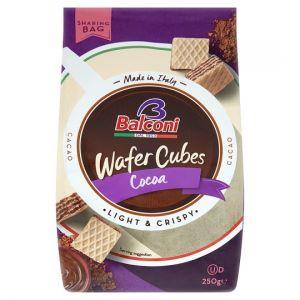 Balconi Wafer Chocolate Cubes 250g