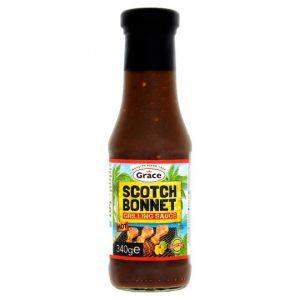 Grace Scotch Bonnet Grilling Sauce Hot 340g