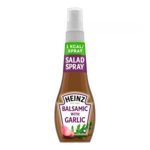Heinz Salad Dressing Spray Balsamic Garlic 200ml