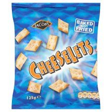 Jacobs Cheeselets Snacks 125g