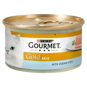 Gourmet Gold Pate With Ocean Fish 85g