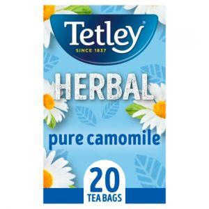 Tetley Herbal Pure Camomile 20 Tea Bags 30g