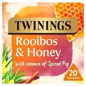 Twinings Rooibos & Honey 20 Teabags 36g